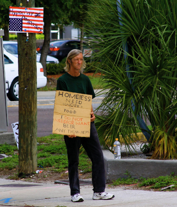 Hypocrisy does not equal democracy. Signs & banners seen in the Tampa Bay area Memorial Day 2009