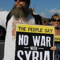 No War With Syria! Tampa protest, Aug. 31 2013